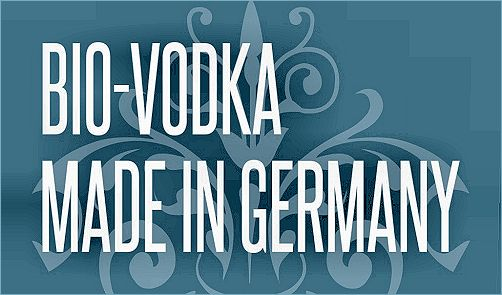:: pure organic vodka made in Germany ::
